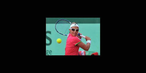 Kirsten Flipkens éliminée au 1er tour - La Libre