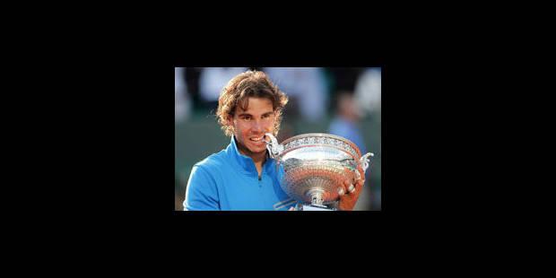 Nadal rejoint Bjorg dans l'histoire - La Libre