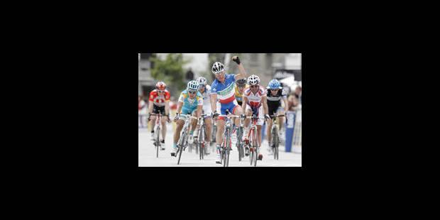 5e étape: Kern en vainqueur, Voeckler en protecteur