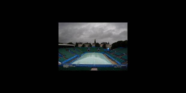 La pluie met dans l'impasse les organisateurs à Eastbourne - La Libre