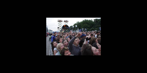Taratata: la police noyée dans la foule - La Libre