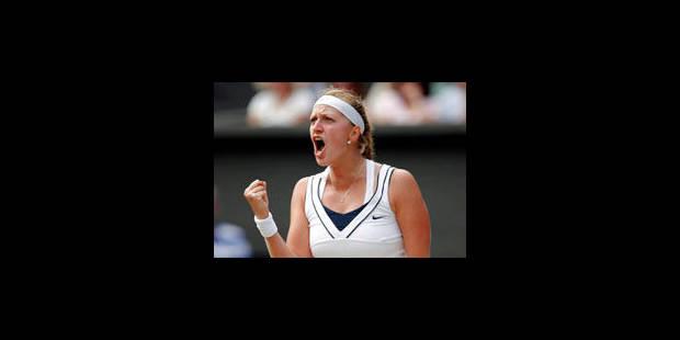 La Tchèque Petra Kvitova en finale de Wimbledon - La Libre