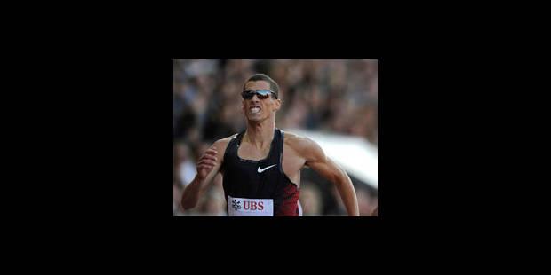 Kevin Borlée remporte le 400 m à Madrid - La Libre