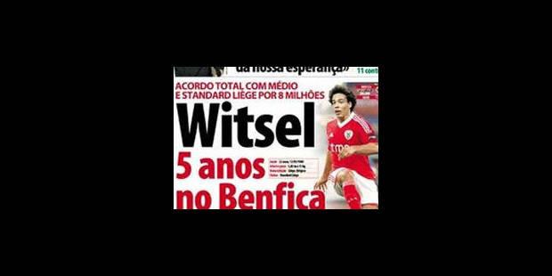 Witsel au Benfica Lisbonne? Son père dément - La Libre