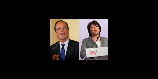 France: clôture des candidatures pour la primaire socialiste - La Libre