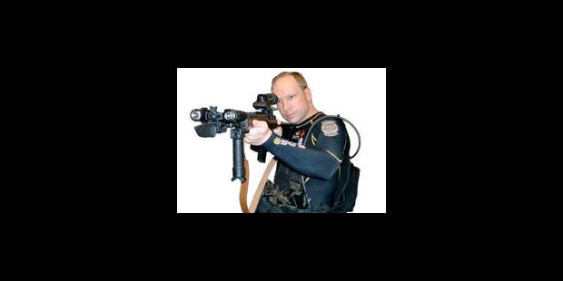 """J'ai fini"", lâche Anders Behring Breivik en se rendant"