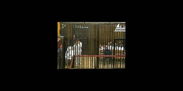 Le procès des Moubarak cale dès le premier jour - La Libre