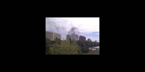 Incendie dans une école à Georges-Henri - La Libre