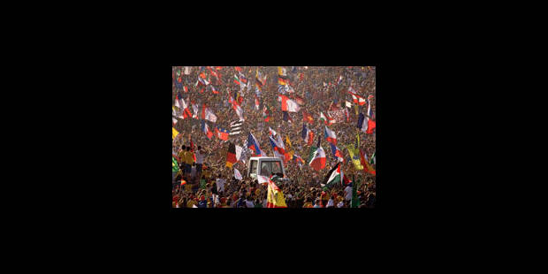 """JMJ: """"Nous sommes la jeunesse du pape"""""""