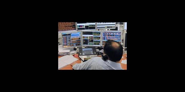 Les Bourses se reprennent, mais le sommet Merkel-Sarkozy peine à convaincre - La Libre