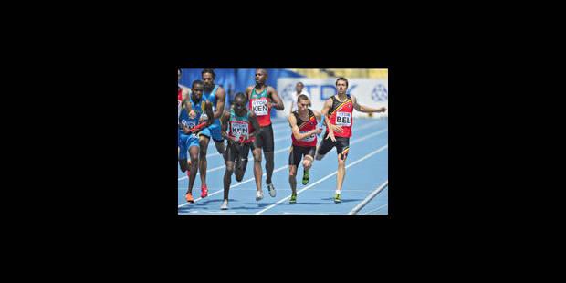 La Belgique 5e du relais 4X400 m - La Libre