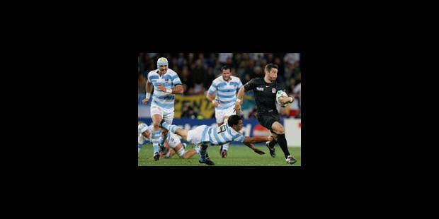 Rugby: l'Angleterre bat difficilement l'Argentine