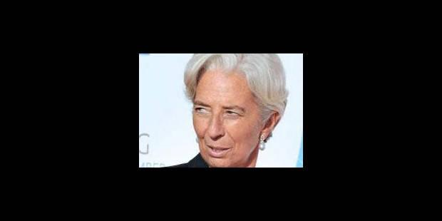 """Lagarde: les économies occidentales dans un """"cercle vicieux"""" - La Libre"""