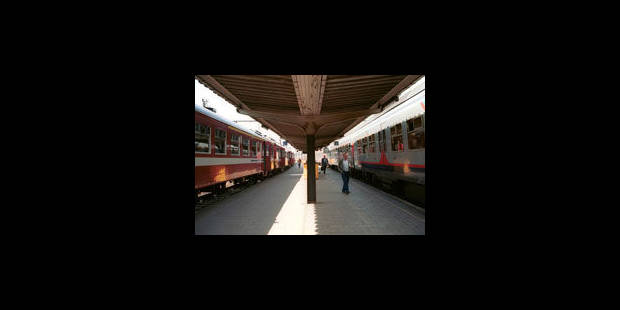 Aucun train sur la ligne Bruxelles-Ottignies le WE prochain - La Libre