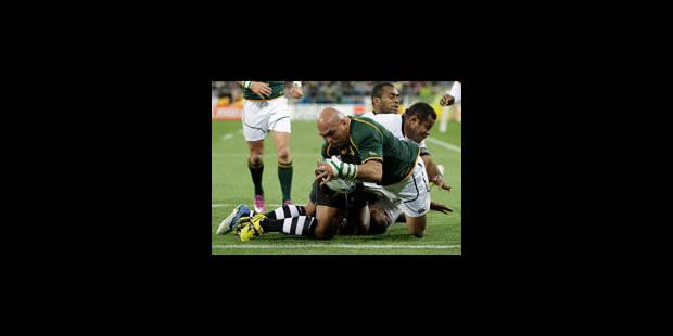 L'Afrique du Sud bat les Fidji 49 à 3