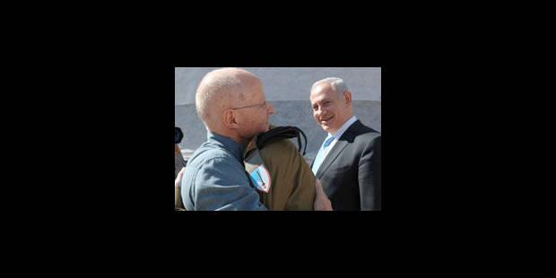 Gilad Shalit de retour dans son village - La Libre