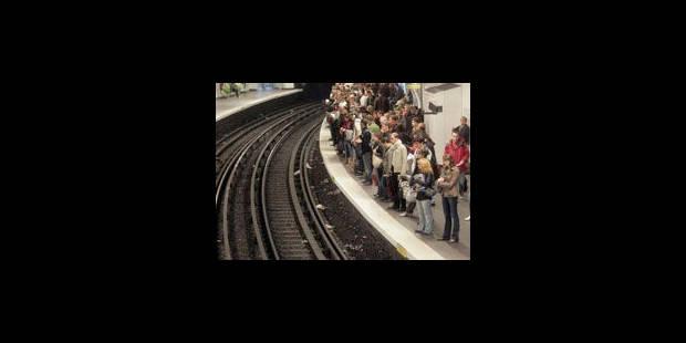 Circulation rétablie dans le métro bruxellois - La Libre