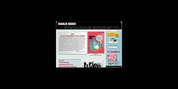"Mahomet ""rédacteur en chef"" de Charlie Hebdo - La Libre"