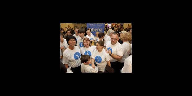 Flashmob pour commémorer la faillite de la Sabena - La Libre