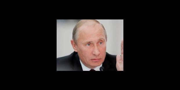 Les affiches du parti de Poutine identiques à celles appelant à voter - La Libre