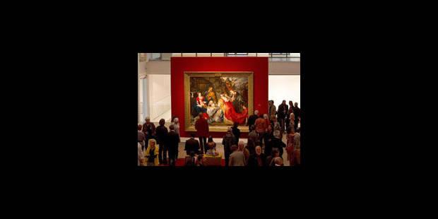 Démarche parlementaire pour le retour d'un Rubens de Nantes à Tournai - La Libre