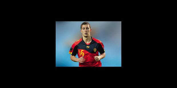 Hazard et Courtois titulaires contre la France - La Libre