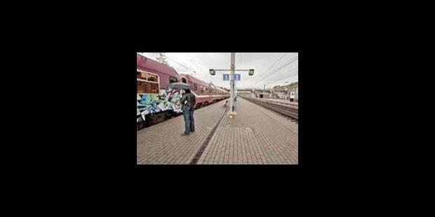 Trafic perturbé sur plusieurs lignes ferroviaires ce matin - La Libre