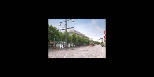 Le tram liégeois déraille à Namur - La Libre