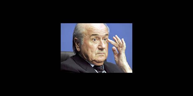 Blatter tient puis nuance des propos controversés sur le racisme - La Libre