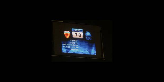 Genk prend l'eau à Valence (7-0) - La Libre