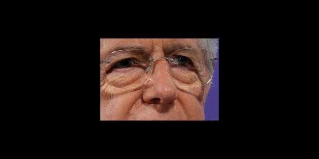 Monti se démarque de Sarkozy et Merkel