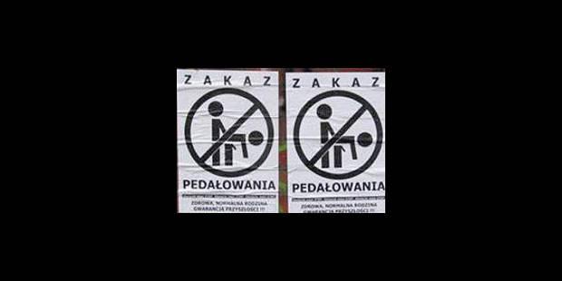 Logo homophobe d'un parti d'extrême droite accepté - La Libre