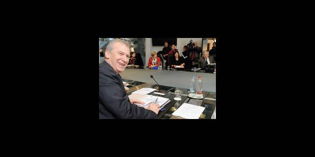 Les ministres du gouvernement Leterme prennent congé de lui - La Libre
