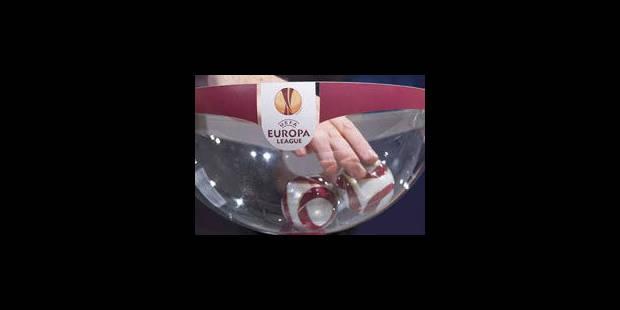 Europa League: les clubs belges épargnés - La Libre