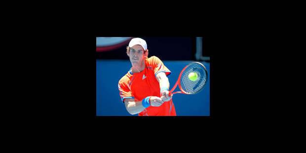 Open d'Australie: Andy Murray concède un set