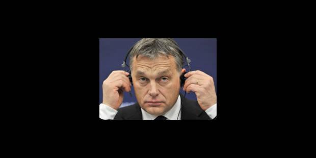 """Viktor Orban, """"ni dictateur, ni démocrate"""""""