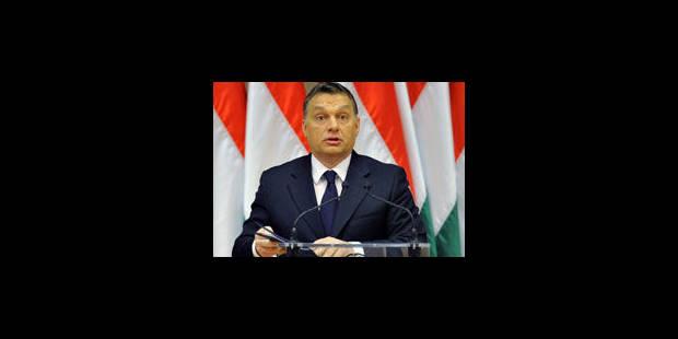 """Hongrie: Orban prêt à """"modifier"""" ses textes de loi controversés"""