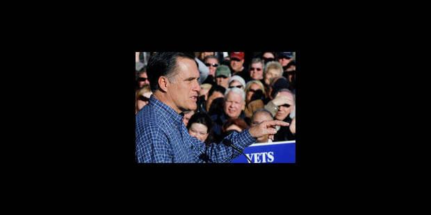 Mitt Romney attaque Barack Obama - La Libre