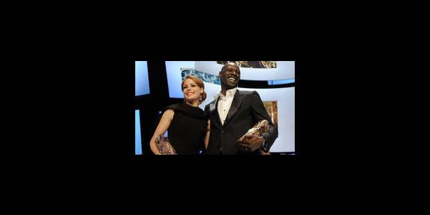 Omar Sy et Bérénice Béjo sacrés aux Césars - La Libre