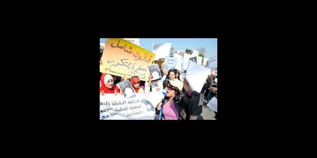 Une adolescente violée se suicide, sit-in devant le parlement - La Libre