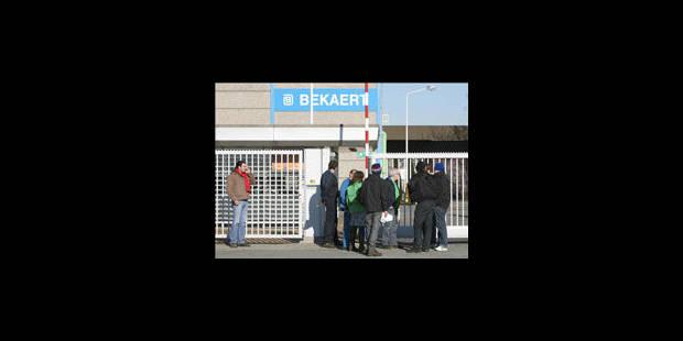 Les salariés de Bekaert partent en grève - La Libre
