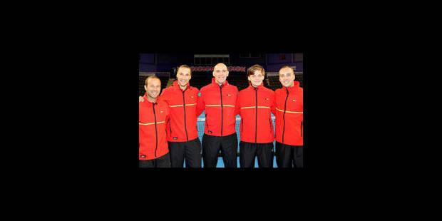 Coupe Davis : la Belgique à un point de la qualification