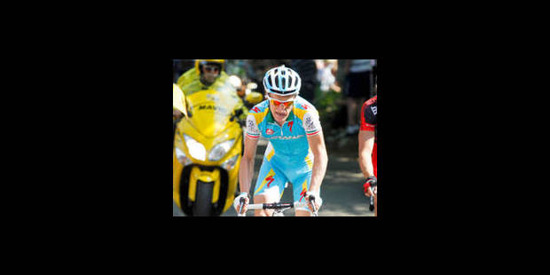 Enrico Gasparotto gagne l'Amstel devant Jelle Vanendert - La Libre