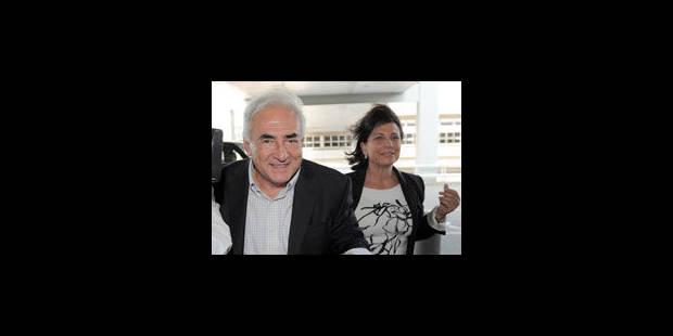 La carrière d'Anne Sinclair victime de DSK - La Libre