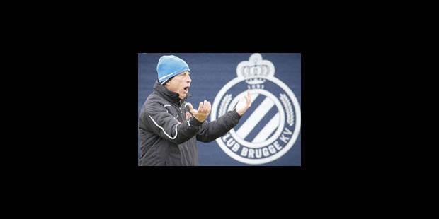 Daum annonce son départ du FC Bruges à ses joueurs - La Libre
