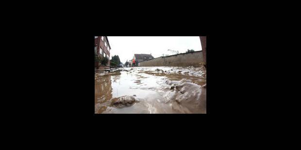 Nouvelles coulées de boue en Wallonie - La Libre
