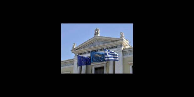 Les banques grecques un peu renflouées - La Libre