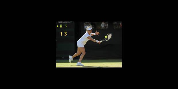 Kim Clijsters se qualifie pour les huitièmes de finale - La Libre
