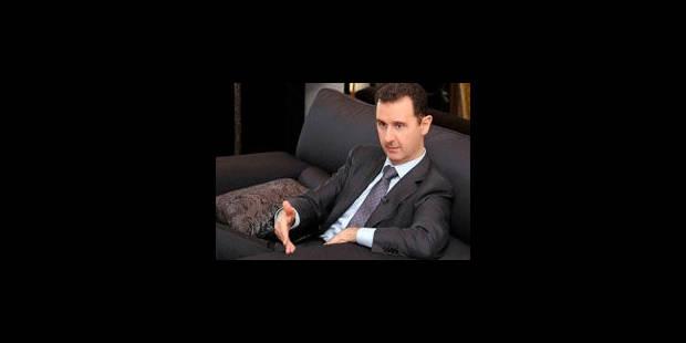 Le timide mea culpa de Bachar al-Assad - La Libre