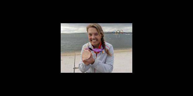 Evi Van Acker décroche le bronze en Laser Radial - La Libre